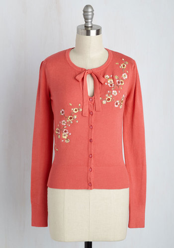 Modcloth Top to Blossom Cardigan