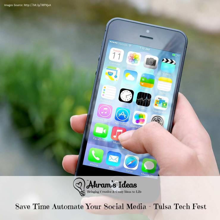 Learn how to save time, automate your social media , with these helpful tips and presentation from my Tulsa Technology Festival presentation.