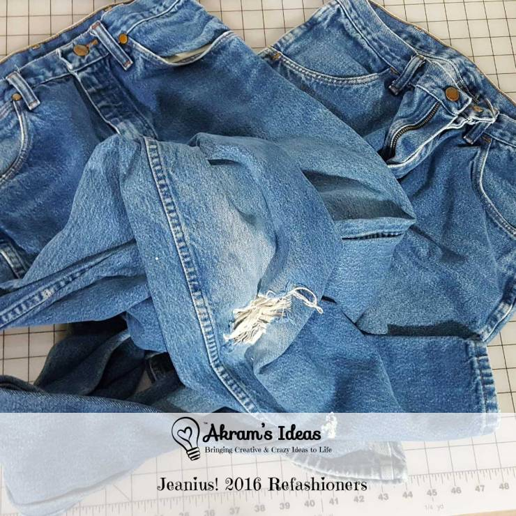 Learn more about The Refashioners challenge where participants are to refashion a garment. This year's challenge is refashioning jeans.