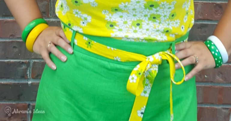 Akram's Ideas: Delphine Skirt belt loops