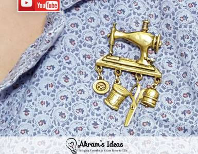 Akram's Ideas: I share my answers for #TheSeamstressTag and links to my favorite sewing vlogs