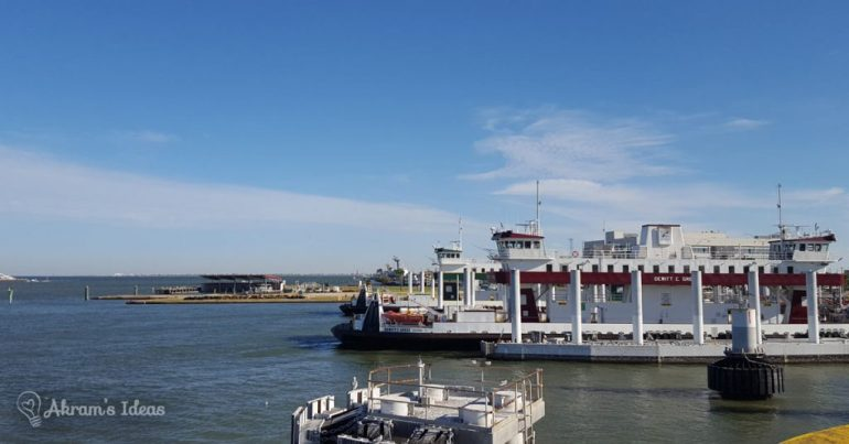 Port Bolivar ferry - Galveston, TX
