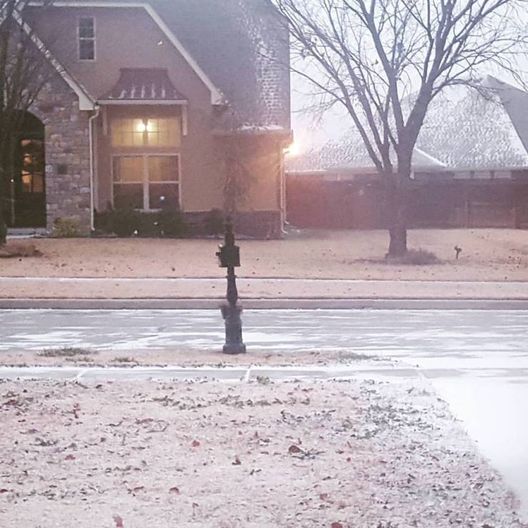 Akram's Ideas: First Oklahoma Snow of Decemeber