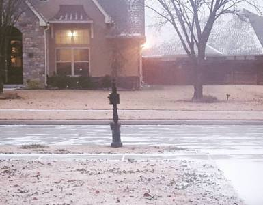 Akram's Ideas: First Oklahoma Snow of Decemeber