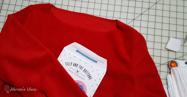 The Little Red Dress Project - Coco pattern via @akramsideas