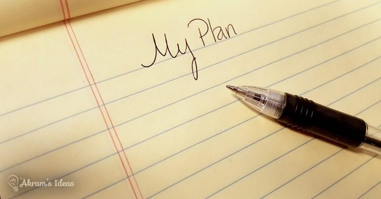 My Plan