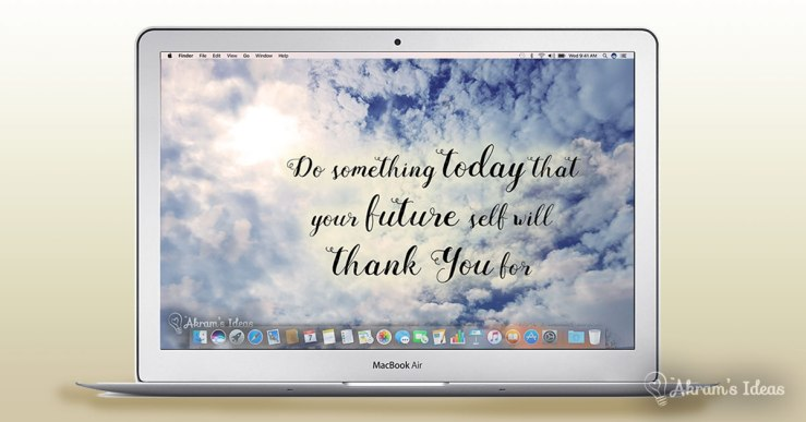 Start each work day inspired with these 5 motivational desktop wallpapers to download to your computer for free.