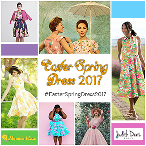 """#EasterSpringDress2017"""