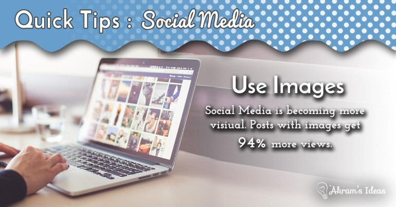 Whether you are just starting out or need to focus your message here are a few quick tips for getting started on social media - via @akramsideas