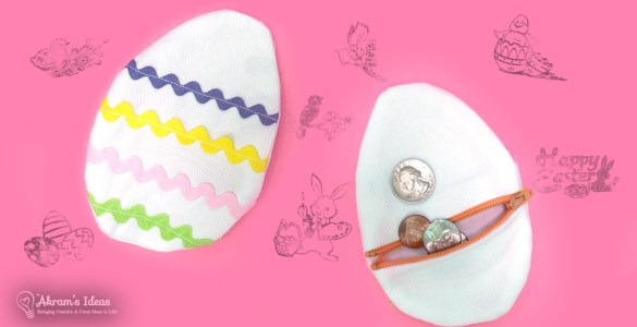 Subscribe to Akram's Ideas newsletter and get Exclusive Free Patterns monthly, starting with The Easter Egg Coin Purse.