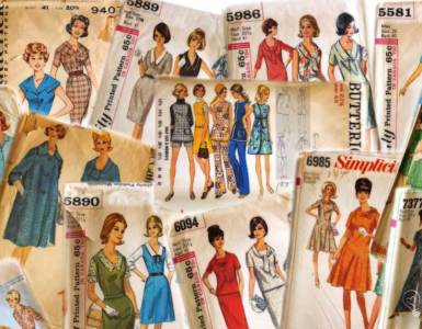 Sharing a few of my favorite vintage patterns I picked up in my latest vintage pattern haul.