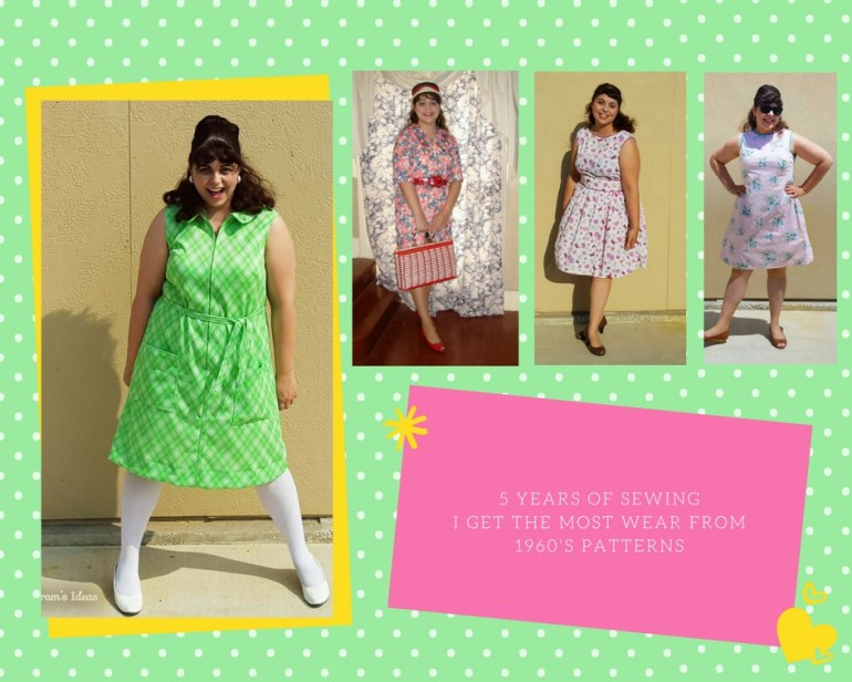 Celebrating my 5-Year Sewiversary with a look back at all my sewing makes over the past five years.