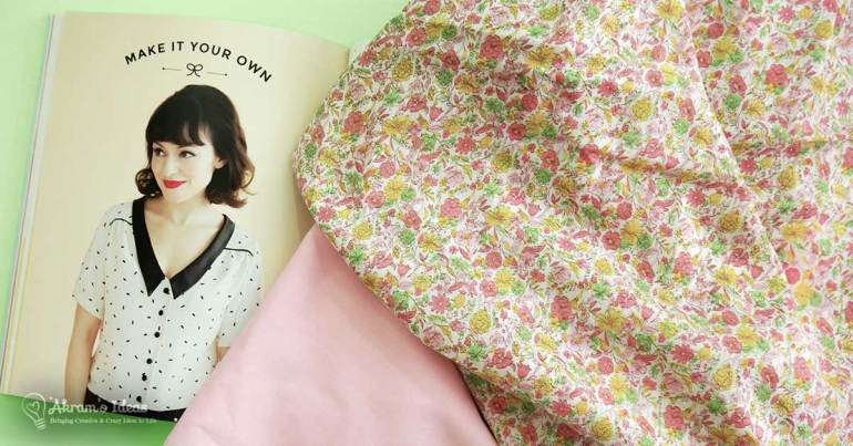Akram's Ideas: Tilly & the Buttons Mimi Blouse