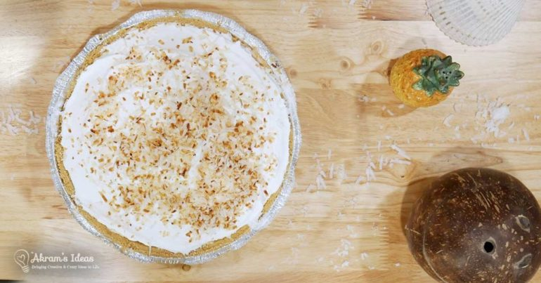 With spring break right around the corner, why not whip up a delightful coconut cream pie with this quickie bake recipe.