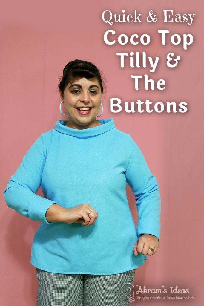 Review of my Tilly & the Buttons Coco Tops made over the winter season. The perfect tops to keep you cozy.