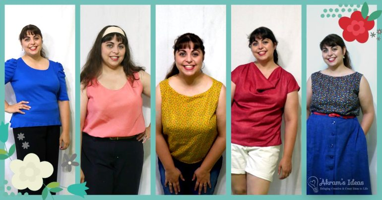 A few lessons that I learned after participating in Me Made May 2018, a handmade wardrobe challenge.