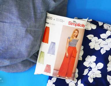 Better late than never, here's a peek at what is (and was) on my sewing table for Summer 2018, including mini-vacation sewing plans with culottes, skirts, and dresses.