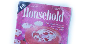 Another flip through of a vintage magazine, this time Household from Jan 1957.