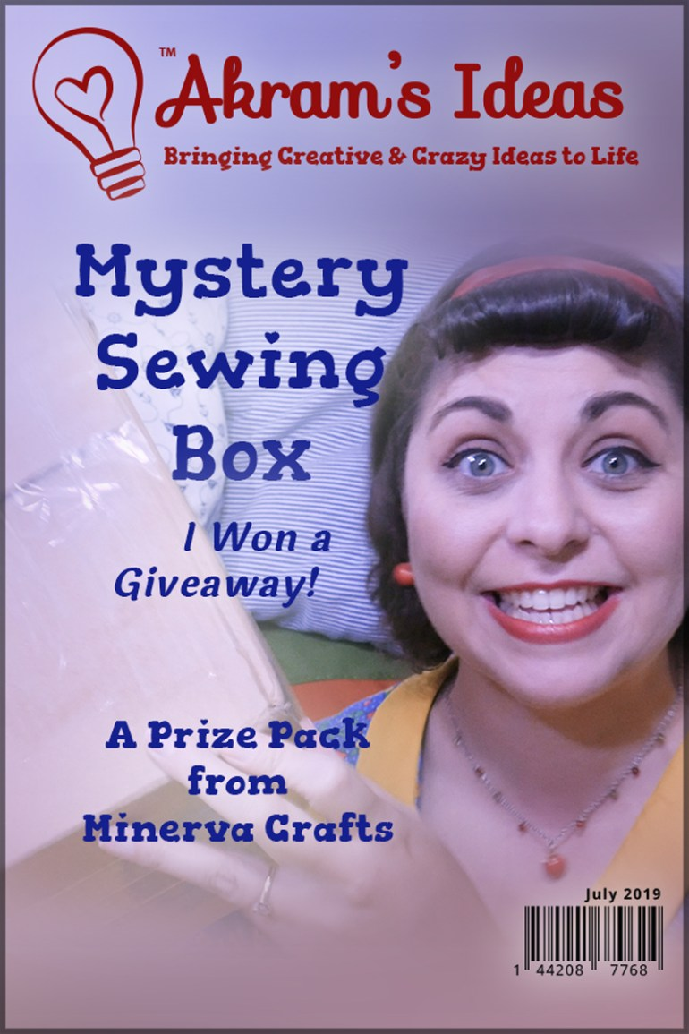 Akram's Ideas: Mystery Sewing Box