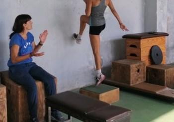 Η Μαίρη Πετεινάρη κάνει Προπόνηση Χ 7 για το Πανελλήνιο Πρωτάθλημα Συνθέτων Αγωνισμάτων στο Έπταθλο
