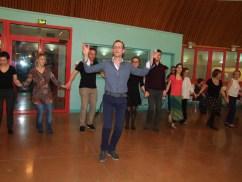 Patrice, l'organisateur de la soirée et maître de danse !