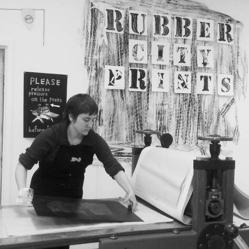 The Art of Relief Printing