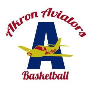 Akron Aviators basketball logo, ABA