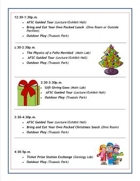 SSS Schedule - Dec 2015 (Christmas) 2