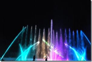 噴水ショー「ヴェルサイユの光」
