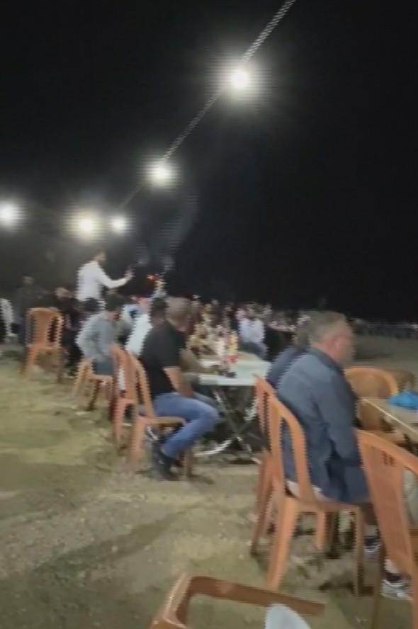 Aksaray'da sünnet düğününe silah operasyonu
