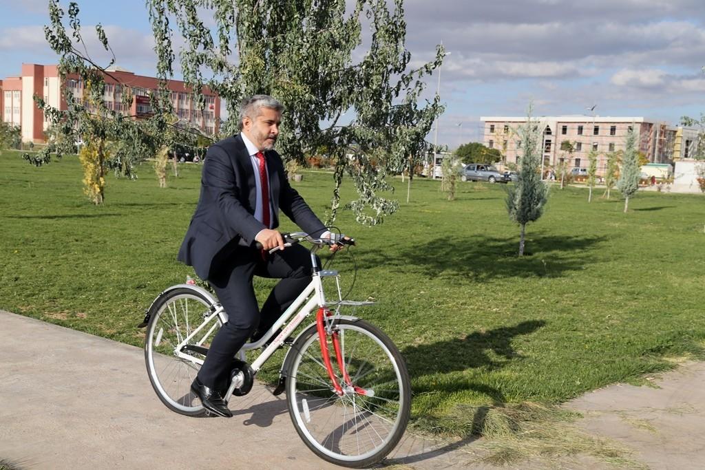 ASÜ'de her iki kişiden biri aktif bisiklet kullanıcısı