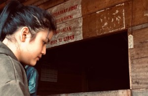 FOTO: Herlin Noviyanti,Sosok Perempuan Jambi Berjuang untuk Korban Asap Karhutla 2019.