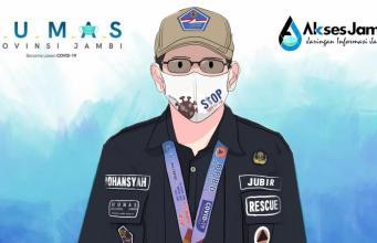 Jubir Gugus Tugas Penanganan Covid-19 Provinsi Jambi, Johansyah. Foto: Humas/AksesJambi.com
