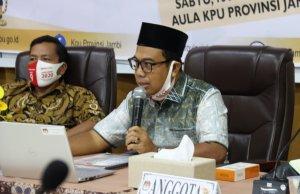 Komisioner KPU Jambi Divisi Teknisi Penyelenggaraan, M. Sanusi
