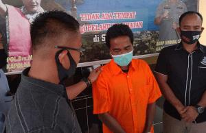 Setahun buron, tersangka korupsi dana desa ditangkap di Bajubang, Batanghari Jambi. Foto: Instagram @resbatubara