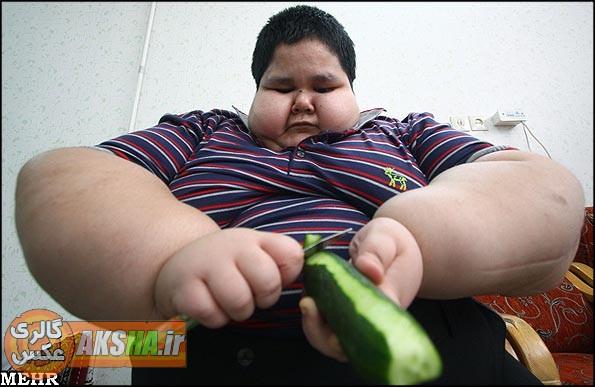 عکس خنده دار چاق