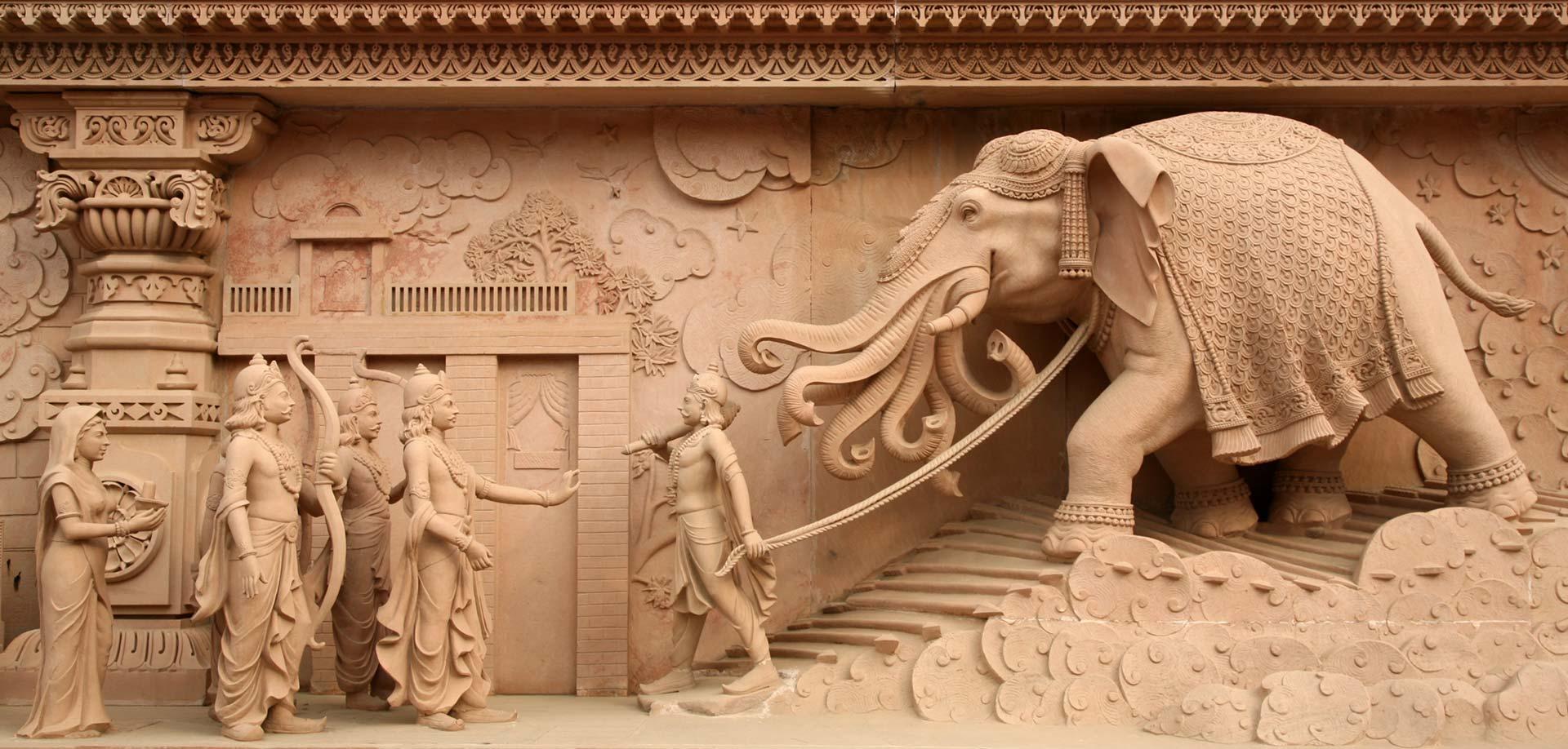 Image result for airavata, elephant, seven trunks