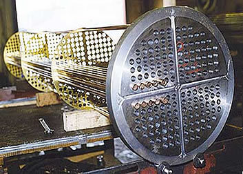 Shell & Tube Heat Exchanger - AKS Heat Transfer - Heat Exchanger Servicing & Repair Specialists