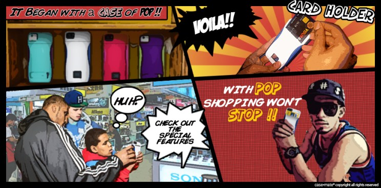 A comic strip To help you Understand POP