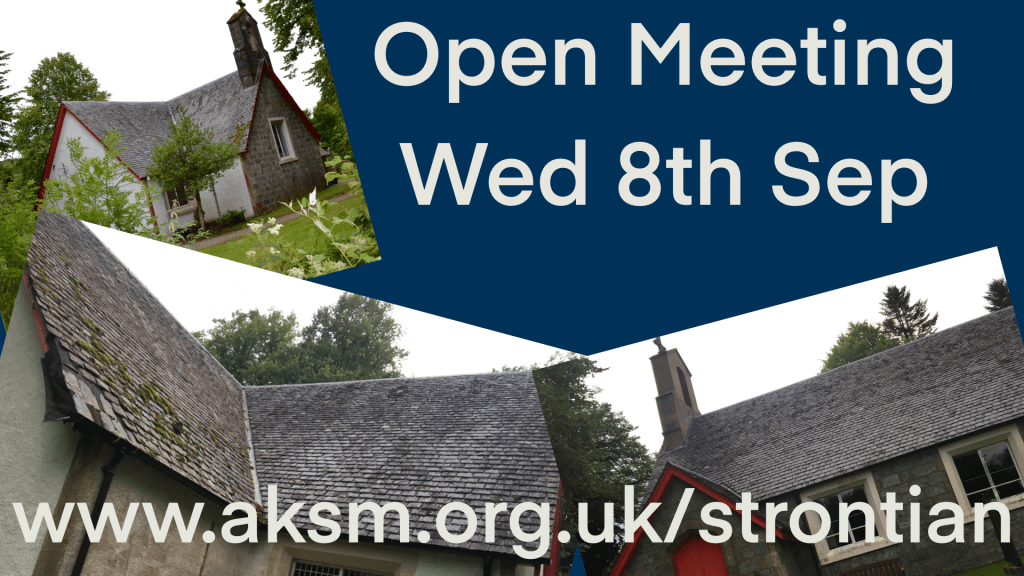 8th September Strontian Meeting
