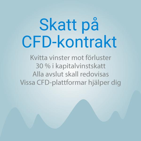 Skatt på CFD-kontrakt