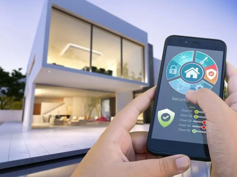 smart building lighting automation with