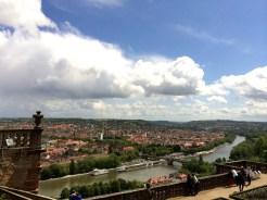 Blick auf Würzburg