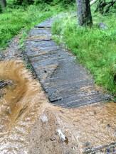 nasser Aufstieg auf den Brocken