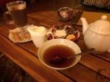 Tee und Schokolade - wir genossen total
