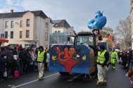 Die Spabrigger Herrgottcher hatten Aladin auf dem Wagen und den blauen Geist ;-)