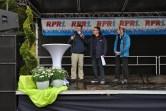 Manuel Andrack, Ralf Schwoll von RPR1, VG Weißenthurm Bürgermeister Georg Hollmann