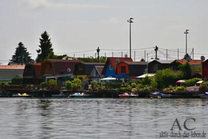 Eine Fahrt mit dem Boot auf der alten Donau in Wien, das war ein tolles Erlebnis im Jahr 2011.