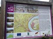 Übersichtskarte der Traumschleife Mittelrhein-Klettersteig