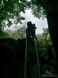 Eine Leiter